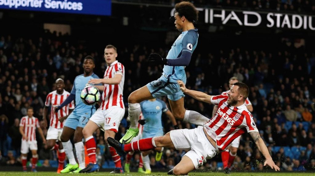 STOKE - MANCHESTER CITY PREMIER LEAGUE