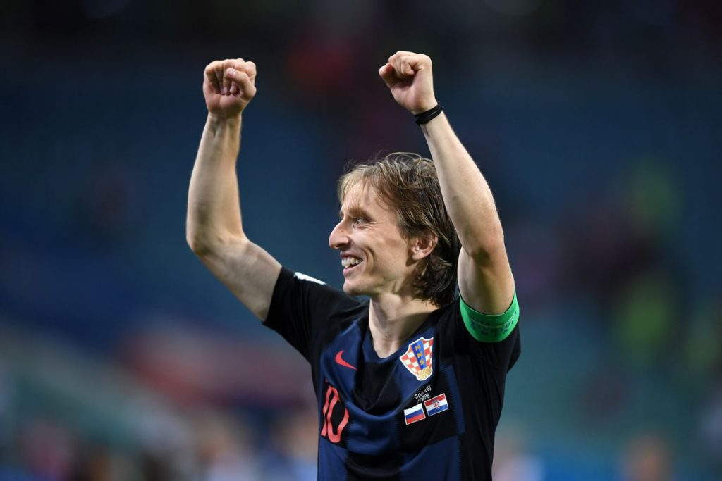 World Cup Semi Final Croatia - England