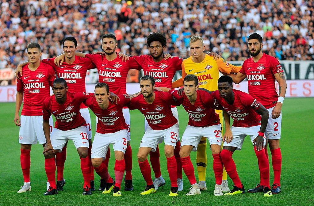 Champions League Spartak Moscow vs PAOK Thessaloniki