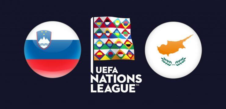 UEFA Nations League Slovenia vs Cyprus