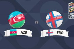 UEFA Nations League Azerbaijan vs Faroe Islands