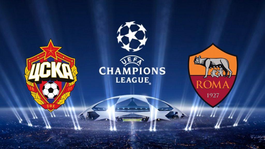 Champions League CSKA Moscow vs Roma