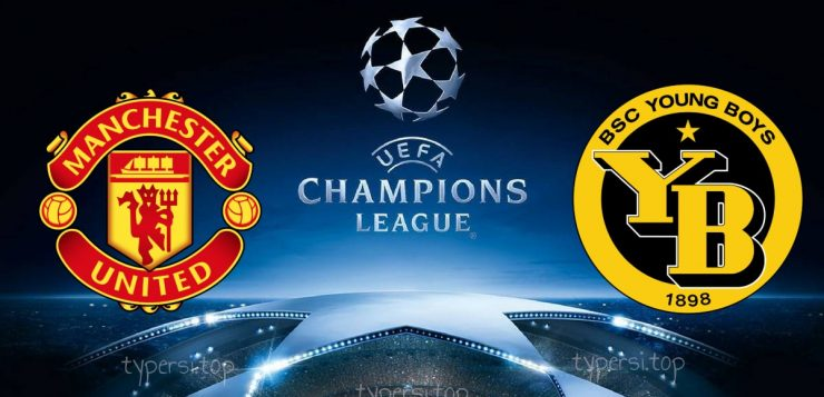 Champions League Manchester United vs Young Boys