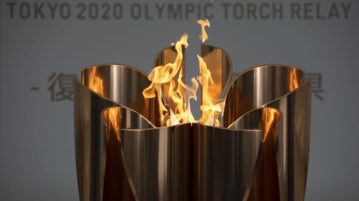 Olympic fire dismantled prematurely
